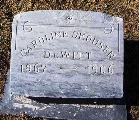 DEWITT, CAROLINE - Apache County, Arizona   CAROLINE DEWITT - Arizona Gravestone Photos