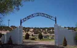 *EAGAR, CEMETERY GATE - Apache County, Arizona   CEMETERY GATE *EAGAR - Arizona Gravestone Photos