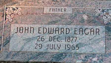 EAGAR, JOHN EDWARD - Apache County, Arizona | JOHN EDWARD EAGAR - Arizona Gravestone Photos
