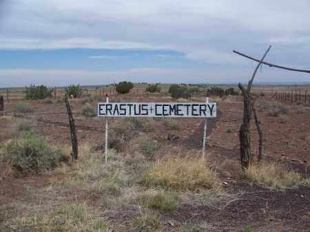 *ERASTUS, CEMETERY GATE - Apache County, Arizona   CEMETERY GATE *ERASTUS - Arizona Gravestone Photos