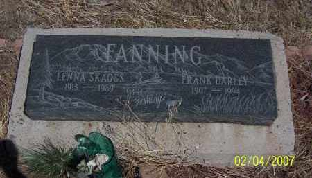 FANNING, LENNA - Apache County, Arizona | LENNA FANNING - Arizona Gravestone Photos