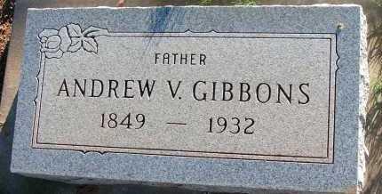 GIBBONS, ANDREW V. - Apache County, Arizona | ANDREW V. GIBBONS - Arizona Gravestone Photos