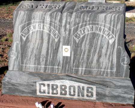 GIBBONS, ANDREW S. - Apache County, Arizona | ANDREW S. GIBBONS - Arizona Gravestone Photos