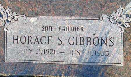 GIBBONS, HORACE S. - Apache County, Arizona | HORACE S. GIBBONS - Arizona Gravestone Photos