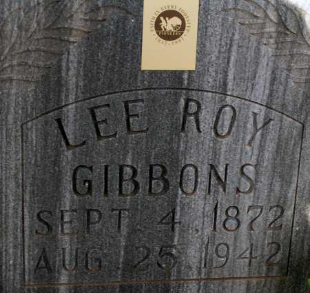 GIBBONS, LEE ROY - Apache County, Arizona | LEE ROY GIBBONS - Arizona Gravestone Photos