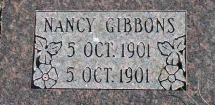 GIBBONS, NANCY - Apache County, Arizona   NANCY GIBBONS - Arizona Gravestone Photos