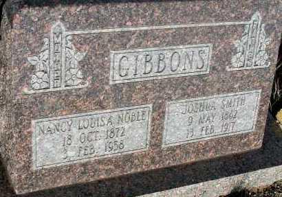 GIBBONS, JOSHUA SMITH - Apache County, Arizona | JOSHUA SMITH GIBBONS - Arizona Gravestone Photos