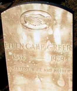 GREER, ELLEN - Apache County, Arizona   ELLEN GREER - Arizona Gravestone Photos