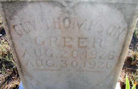 GREER, GUY THOMPSON - Apache County, Arizona   GUY THOMPSON GREER - Arizona Gravestone Photos