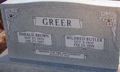 GREER, MILDRED - Apache County, Arizona | MILDRED GREER - Arizona Gravestone Photos