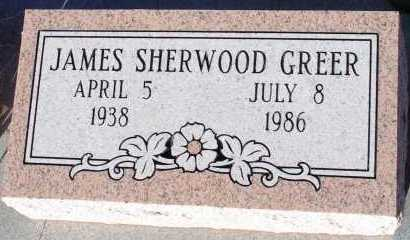 GREER, JAMES SHERWOOD - Apache County, Arizona | JAMES SHERWOOD GREER - Arizona Gravestone Photos