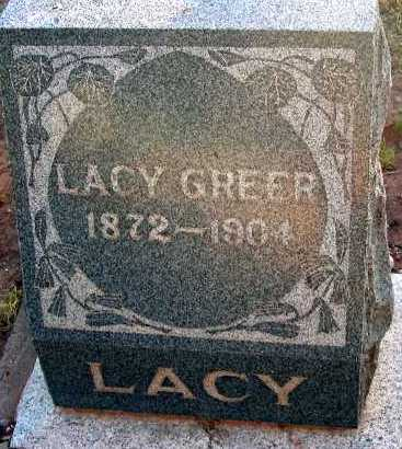 GREER, LACY - Apache County, Arizona   LACY GREER - Arizona Gravestone Photos