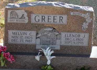 GREER, MELVIN C. - Apache County, Arizona | MELVIN C. GREER - Arizona Gravestone Photos