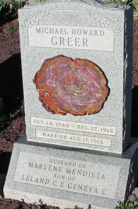 GREER, MICHAEL HOWARD - Apache County, Arizona | MICHAEL HOWARD GREER - Arizona Gravestone Photos