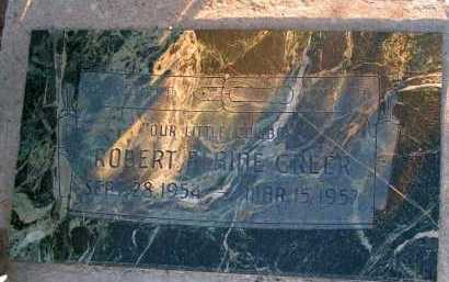 GREER, ROBERT BLAINE - Apache County, Arizona | ROBERT BLAINE GREER - Arizona Gravestone Photos