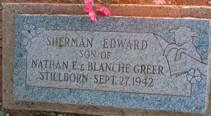 GREER, SHERMAN - Apache County, Arizona   SHERMAN GREER - Arizona Gravestone Photos