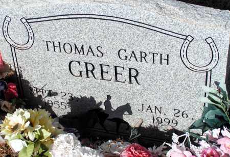 GREER, THOMAS GARTH - Apache County, Arizona   THOMAS GARTH GREER - Arizona Gravestone Photos