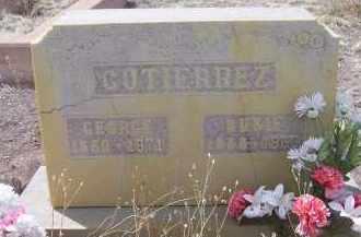 GUTIERREZ, SUSIE - Apache County, Arizona | SUSIE GUTIERREZ - Arizona Gravestone Photos
