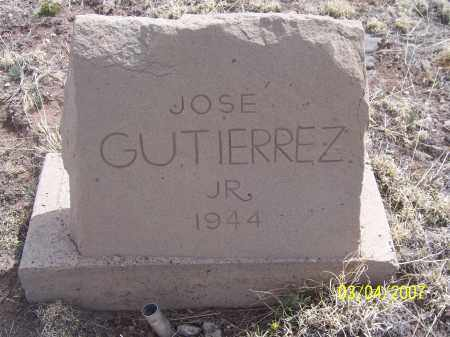 GUTIERREZ, JOSE JR. - Apache County, Arizona | JOSE JR. GUTIERREZ - Arizona Gravestone Photos