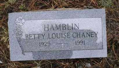 HAMBLIN, BETTY LOUISE - Apache County, Arizona | BETTY LOUISE HAMBLIN - Arizona Gravestone Photos
