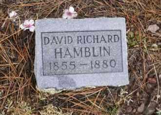 HAMBLIN, DAVID RICHARD - Apache County, Arizona | DAVID RICHARD HAMBLIN - Arizona Gravestone Photos