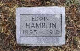 HAMBLIN, EDWIN - Apache County, Arizona   EDWIN HAMBLIN - Arizona Gravestone Photos