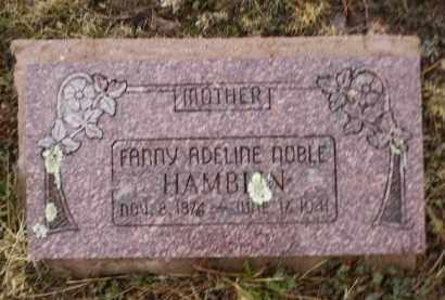 HAMBLIN, FANNY ADELINE - Apache County, Arizona   FANNY ADELINE HAMBLIN - Arizona Gravestone Photos