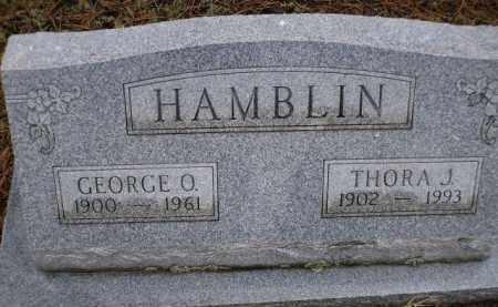 HAMBLIN, THORA J. - Apache County, Arizona | THORA J. HAMBLIN - Arizona Gravestone Photos