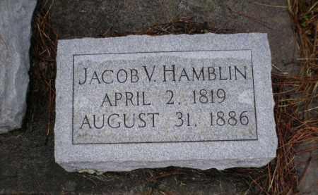 HAMBLIN, JACOB V. - Apache County, Arizona | JACOB V. HAMBLIN - Arizona Gravestone Photos