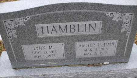 HAMBLIN, AMBER PLUMB - Apache County, Arizona | AMBER PLUMB HAMBLIN - Arizona Gravestone Photos