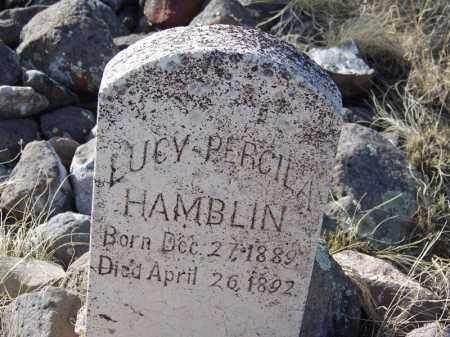 HAMBLIN, LUCY PERCILA - Apache County, Arizona | LUCY PERCILA HAMBLIN - Arizona Gravestone Photos