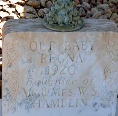 HAMBLIN, REGNA - Apache County, Arizona | REGNA HAMBLIN - Arizona Gravestone Photos