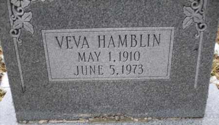 HAMBLIN, VEVA - Apache County, Arizona | VEVA HAMBLIN - Arizona Gravestone Photos