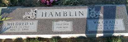 HAMBLIN, WM. GRANT - Apache County, Arizona | WM. GRANT HAMBLIN - Arizona Gravestone Photos
