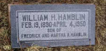 HAMBLIN, WILLIAM H. - Apache County, Arizona | WILLIAM H. HAMBLIN - Arizona Gravestone Photos