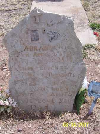 HILL, ABRAN M. - Apache County, Arizona   ABRAN M. HILL - Arizona Gravestone Photos