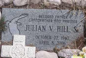 HILL, JULIAN V. SR. - Apache County, Arizona | JULIAN V. SR. HILL - Arizona Gravestone Photos
