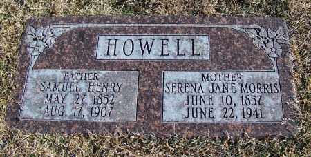 MORRIS HOWELL, SERENA JANE - Apache County, Arizona | SERENA JANE MORRIS HOWELL - Arizona Gravestone Photos