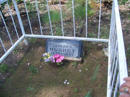 HUGHEY, EDWARD D. - Apache County, Arizona | EDWARD D. HUGHEY - Arizona Gravestone Photos