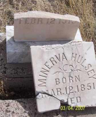 HULSEY, MINERVA - Apache County, Arizona | MINERVA HULSEY - Arizona Gravestone Photos