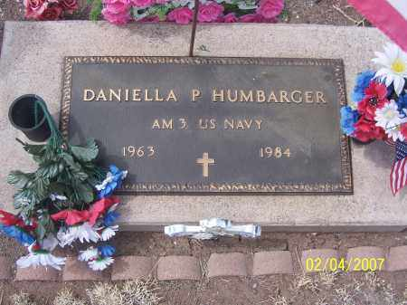 HUMBARGER, DANIELLA P - Apache County, Arizona | DANIELLA P HUMBARGER - Arizona Gravestone Photos