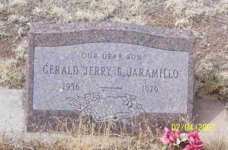 "JARAMILLO, GERALD ""JERRY"" R. - Apache County, Arizona   GERALD ""JERRY"" R. JARAMILLO - Arizona Gravestone Photos"