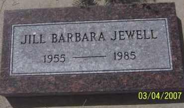 JEWELL, JILL BARBARA - Apache County, Arizona | JILL BARBARA JEWELL - Arizona Gravestone Photos
