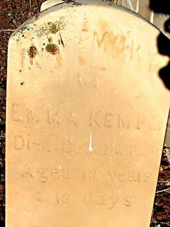 KEMPE, EMMA - Apache County, Arizona | EMMA KEMPE - Arizona Gravestone Photos