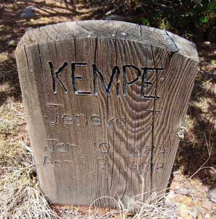 KEMPE, JENEVA J - Apache County, Arizona   JENEVA J KEMPE - Arizona Gravestone Photos