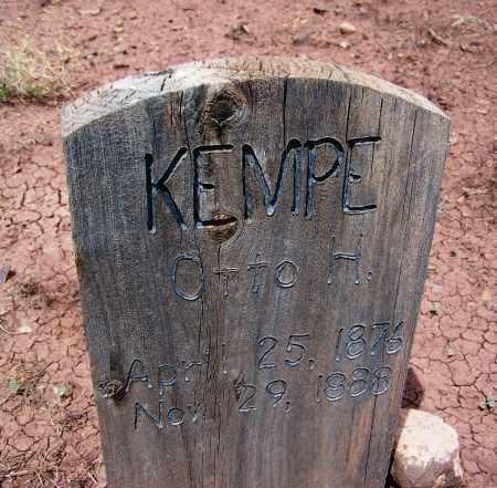 KEMPE, OTTO H - Apache County, Arizona   OTTO H KEMPE - Arizona Gravestone Photos