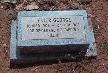KILLIAN, LESTER GEORGE - Apache County, Arizona   LESTER GEORGE KILLIAN - Arizona Gravestone Photos