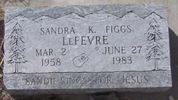 FIGGS LEFEVRE, SANDA K. - Apache County, Arizona | SANDA K. FIGGS LEFEVRE - Arizona Gravestone Photos