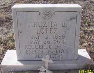 LOPEZ, CRUZITA B. - Apache County, Arizona   CRUZITA B. LOPEZ - Arizona Gravestone Photos