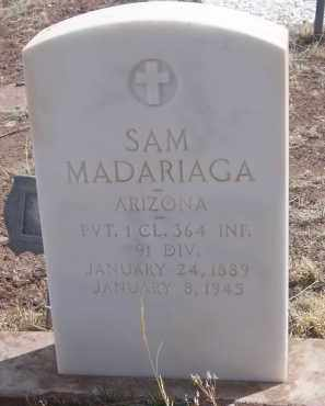 MADARIAGA, SAM - Apache County, Arizona | SAM MADARIAGA - Arizona Gravestone Photos